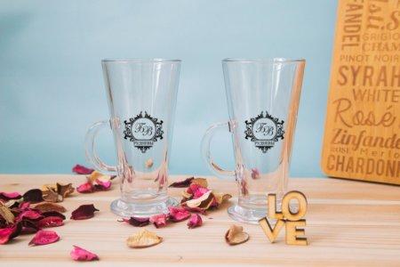 2 бокала для глинтвейна или кофе