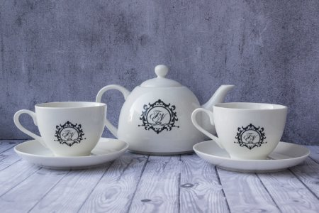 2 чайные пары + чайник