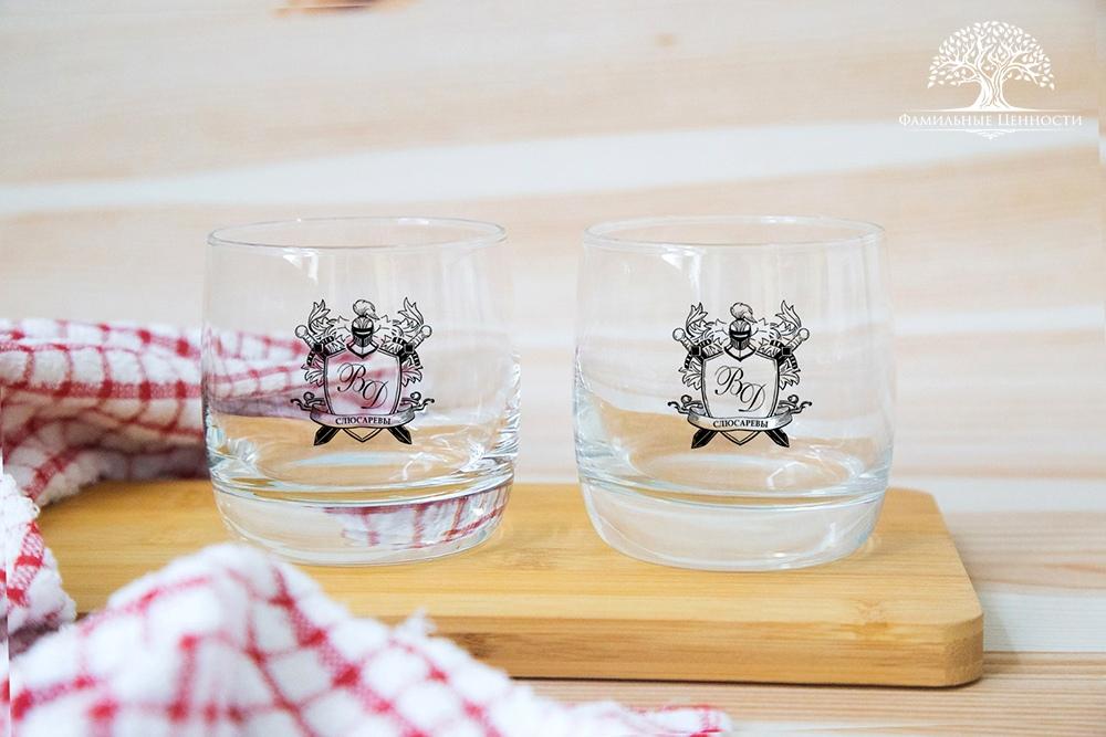 2 стакана для виски